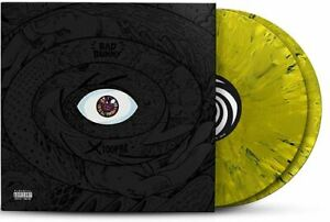 Bad-Bunny-X-100PRE-Exclusive-Limited-Edition-Yellow-Splatter-2x-Vinyl-LP-VGNM