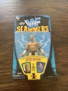 WWF-Slammers-Stone-Cold-Steve-Austin-Series-1-1998-Jakks-Pacific-WWE-Figure