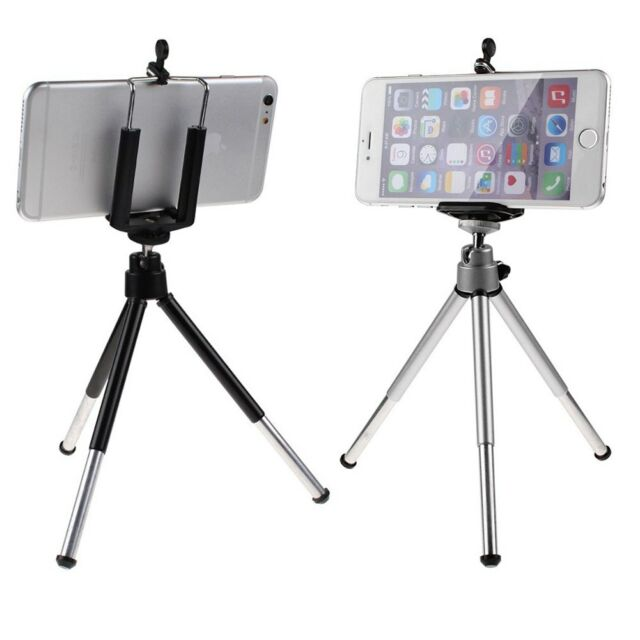 Universal 360°Rotatable Cell Phone Stand Tripod + Holder For Smartphone GPS