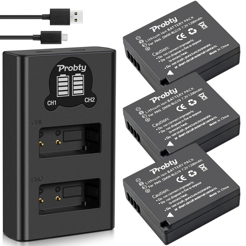 3 Batteries   Dual Charger