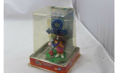 Dora The Explorer Time For Adventure Spring Clock & Picture Memo Holder New