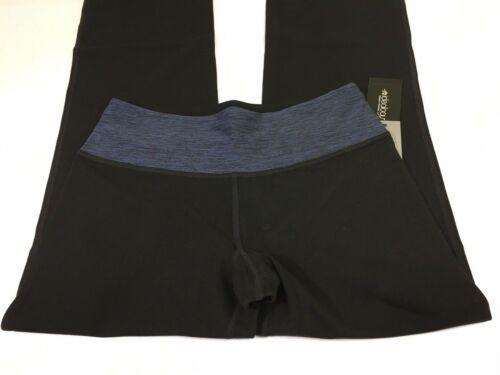L/'idéologie Black Performance Serenity Boot Leg Yoga Pantalon Taille S UK 10