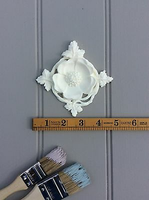 SHABBY CHIC DECORATIVE VINTAGE FURNITURE APPLIQUE MOULDING SQUARE/ONLAY/CRAFT