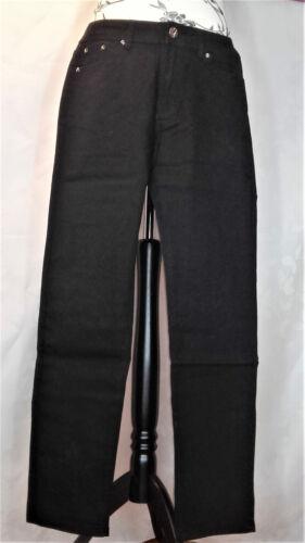 Gothic hose jeans schwarz damen B020