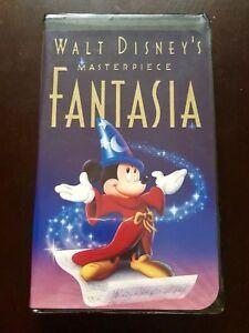Rare Original Walt Disney Fantasia Masterpiece Vhs 1991 1132 Black Diamond Ebay