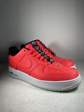 Size 10 - Nike Air Force 1 '07 LV8 Double Air Pack - Laser Crimson ...