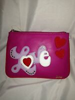 Juicy Couture Juicy At Heart Wristlet / Cosmetic Case Retails For $48.00