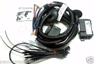 toyota prado wiring harness 150 series 7pin flat gx gxl vx sx zr image is loading toyota prado wiring harness 150 series 7pin flat