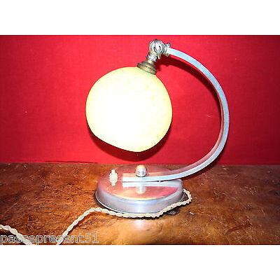 Jolie ancienne lampe 1930-40, Art déco, verrerie clichy ?
