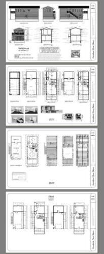 1 Bedroom 16x36 House PDF Floor Plan Model 10A 744 sq ft
