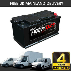 019 Titanium Car Van Battery 12V 850CCA