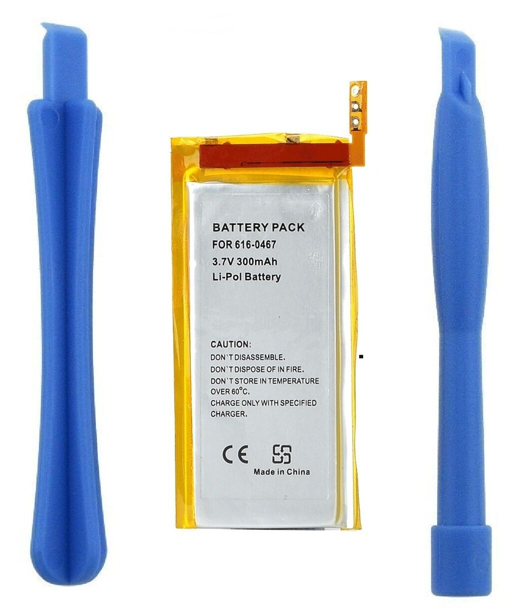 Akku Batterie 450mAh Generation MB453LL//A Werkzeug für Apple iPod Nano 3