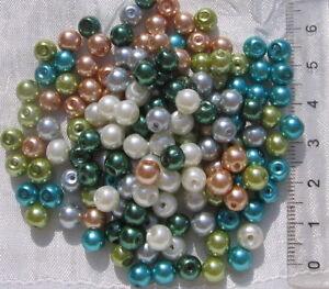 25 perles verre oeil de chat 4mm MIX COULEURS DIY création bijoux