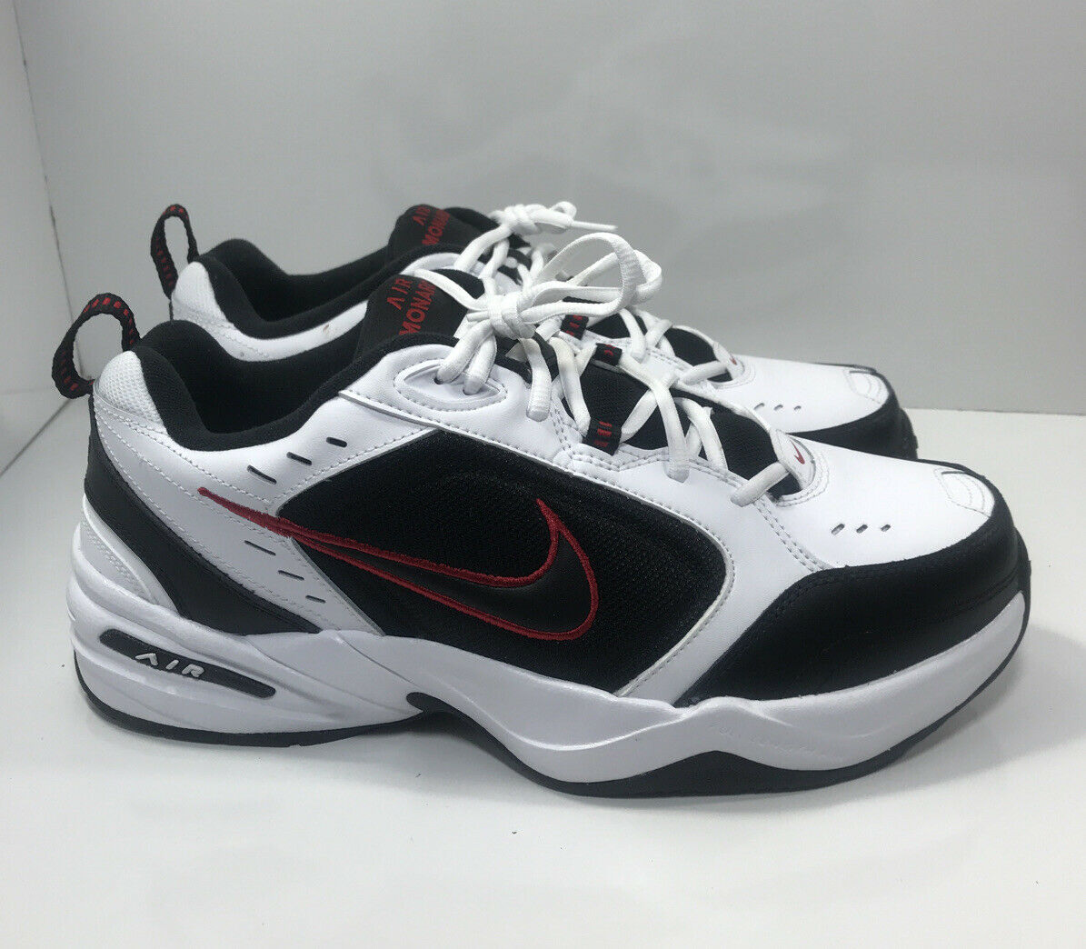 Red//White//Black Mens Size 9 Shoes Air Monarch IV Extra Wide 416355-101 New