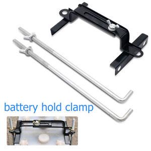Reglable-Batterie-voiture-bateau-tasseau-de-fixation-Porte-support-en-metal