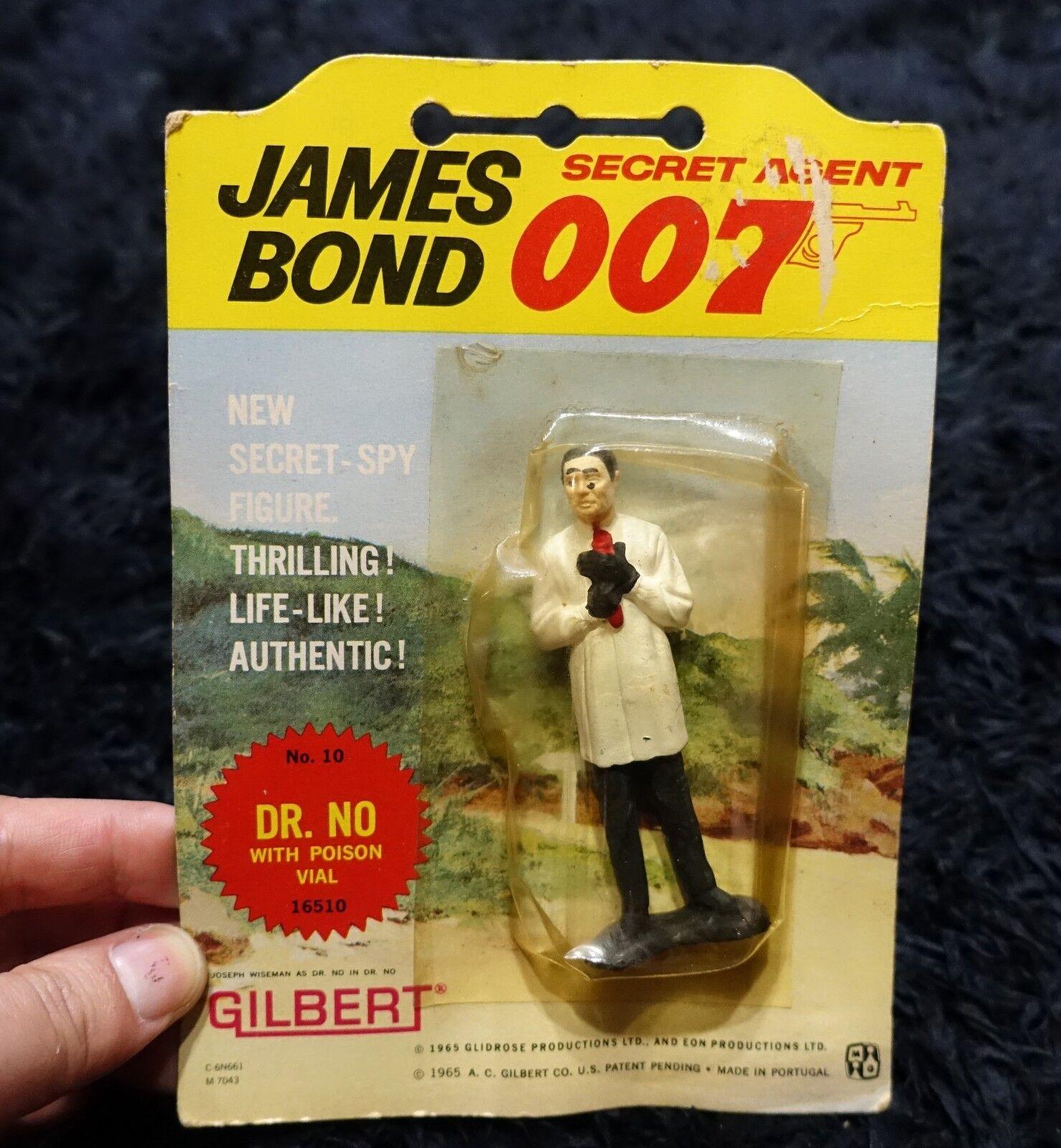 007  DR. NO GILBERT VINTAGE FIGURE  007 JAMES BOND
