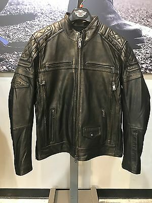Harley-Davidson Men's Benson Light-weight Leather Jacket - 97155-17VM Large