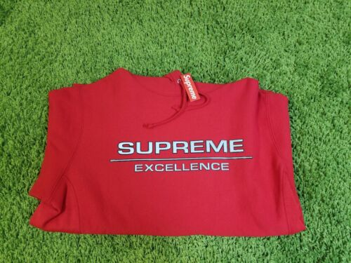 Supreme F//W 2017 Reflective Excellence Hooded Sweatshirt Size M Box Logo