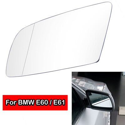Heated Mirror Glass Heated Side Wing Mirror Glass 51167065081 for Most Vehicles E60 E61 E63 03-10