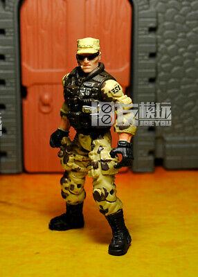 "3.75/"" Gi Joe Lanard  the Corps Soldier #020 With 20pcs Accessories Rare Figure"