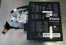 Applied Motion Products Stac5 Step Motor Driver 5000 200 Stac5 Q N120 Usedcutout