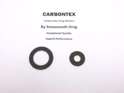 2 Smooth Drag Carbontex Drag Washers #SDD6 DAIWA REEL PART Strikeforce 100SH
