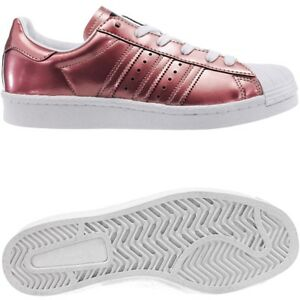 Adidas Superstar W Damen low-top Sneakers kupferrot metallic Freizeitschuhe NEU