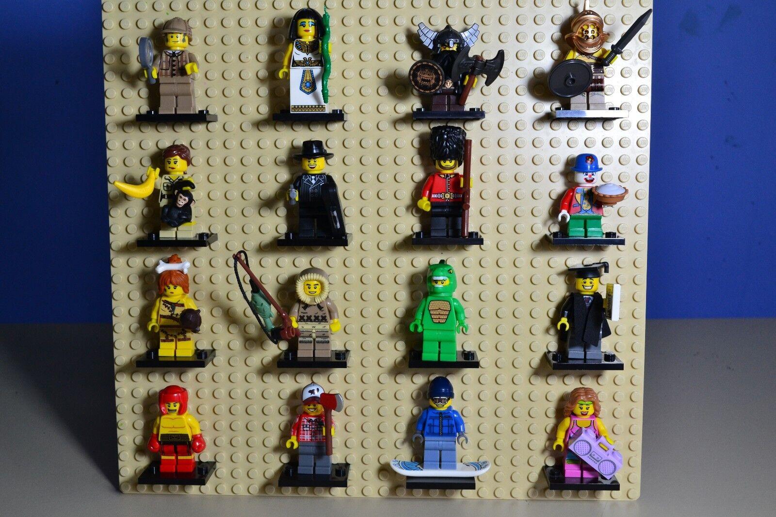 Lego Serie 5 juego completo de 16 MINIFIGURA S (8805)