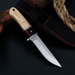 6-034-Fixed-Blade-Tactical-Straight-Pocket-Hunting-Survival-Knife-EDC-With-Sheath