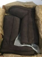 Women's Ugg Australia 5815 Classic Tall Chocolate Brown Boots Size 8