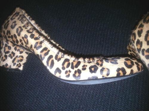 chic Daniblack m 5 Scarpe Pony taglia Print Hair Loafer Molto 6 Leopard pqOpPwZ