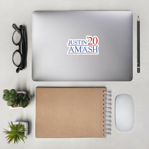 Justin Amash Sticker Presidential 2020 Libertarian Party Election USA 3rd Party