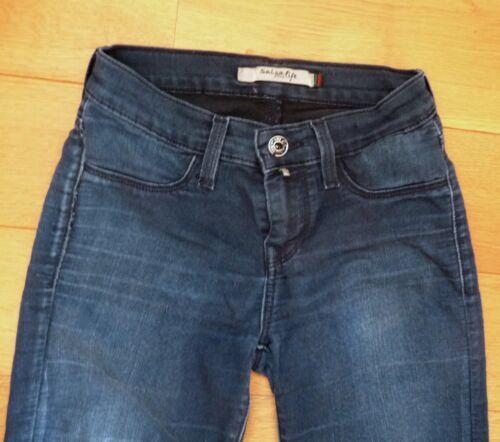 W25 Jean Jeans L30 Salsa Bleu Fonc APAYwEgq