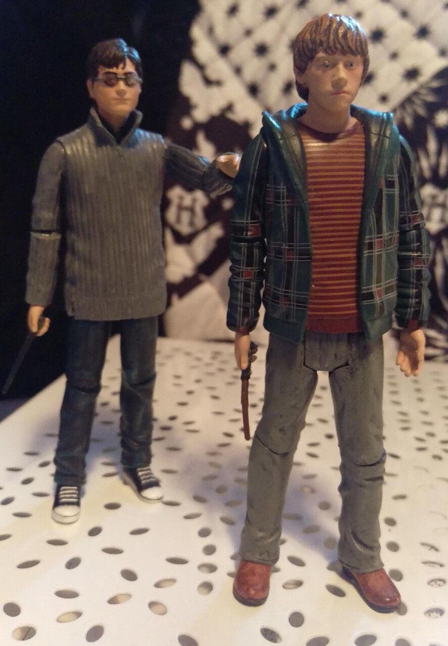 Harry Potter e Ron Weasley 5  Action Figure con bacchetta magica Mattel Giocattolo Figure