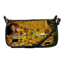 New The Kiss by Gustav Klimt for Shoulder Clutch Bag Free Shipping
