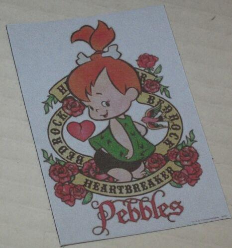 """Pebbles Flintstone /""""Bedrock Heartbreaker/"""" Floppy Magnet Approx 2/"""" x 2 7//8/"""""""