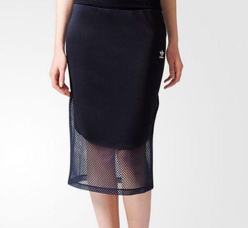 Slim Fit Trefoil Adidas Osaka 10 Originals Womens Blue Uk Skirt Mesh Midi Navy 8qOy8gwf
