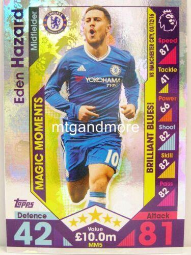 Match coronó 2016//17 Premier League-mm5 Eden Hazard-Magic Moments