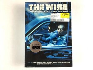 The-Wire-The-Complete-Third-Season-DVD-2006-5-Disc-Set-Sealed-Brand-New