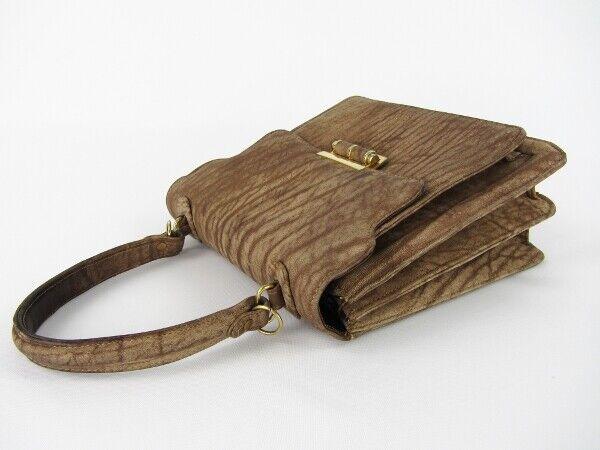 Handtasche 60er 70er Jahre Leder Patent Lolise  true vintage vintage vintage bag 00fd60