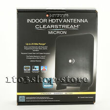 ClearStream Micron Indoor TV HDTV Antenna 25 Mile Range 4K Ultra HD Ready NEW