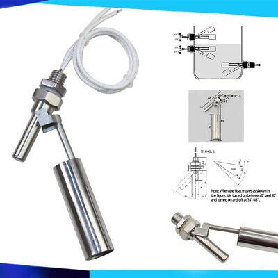 2 Stk Schwimmerschalter Füllstandsschalter Pegelschalter Niveauschalter Sensor