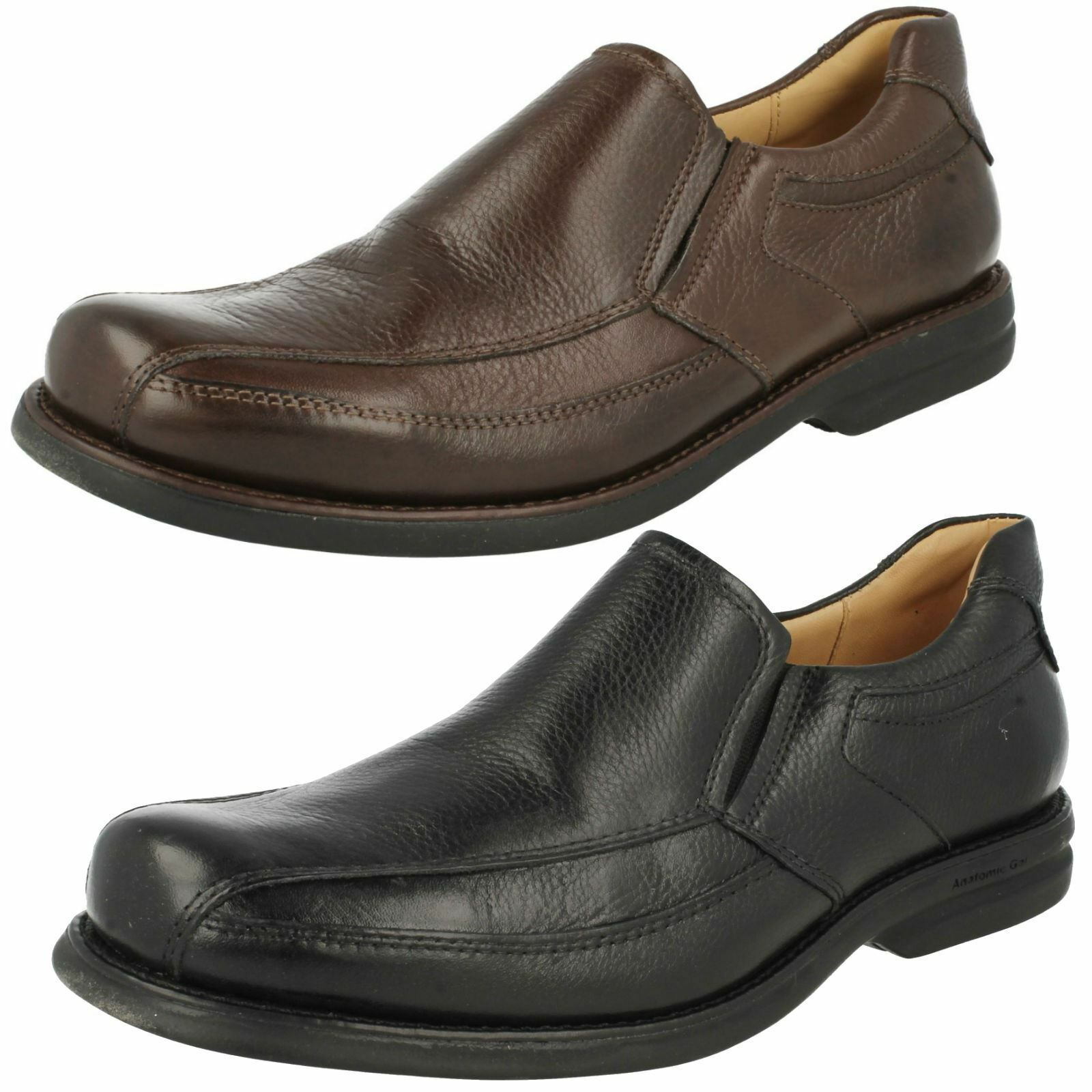Mens Anatomic Leather Slip On Loafer Shoes Urupa 454558
