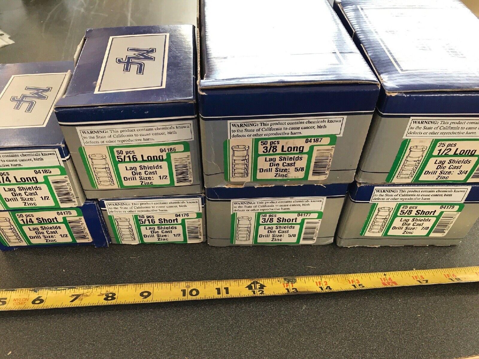 Carton: 100 pcs 1//4 x 2 Sleeve Anchors//Round Head//Steel//Zinc