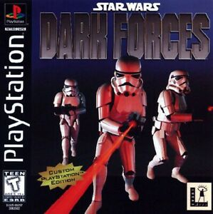Star-Wars-Dark-Forces-PS1-Great-Condition-Fast-Shipping