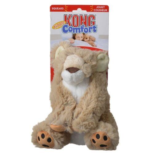 Kong Comfort Kiddos Dog Toy Lion  Free Shipping