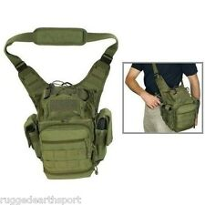 First Responder Tactical Utility Shoulder Bag Military Gun & Ammo Gear OD GREEN