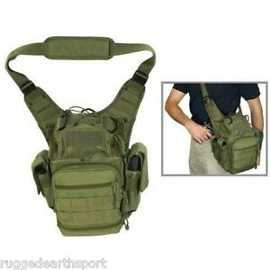 Image is loading First-Responder-Tactical-Utility-Shoulder-Bag-Military-Gun-