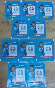 Euro-2020-Preview-Panini-Sticker-Collection-10-x-Sealed-Packs-50-Stickers