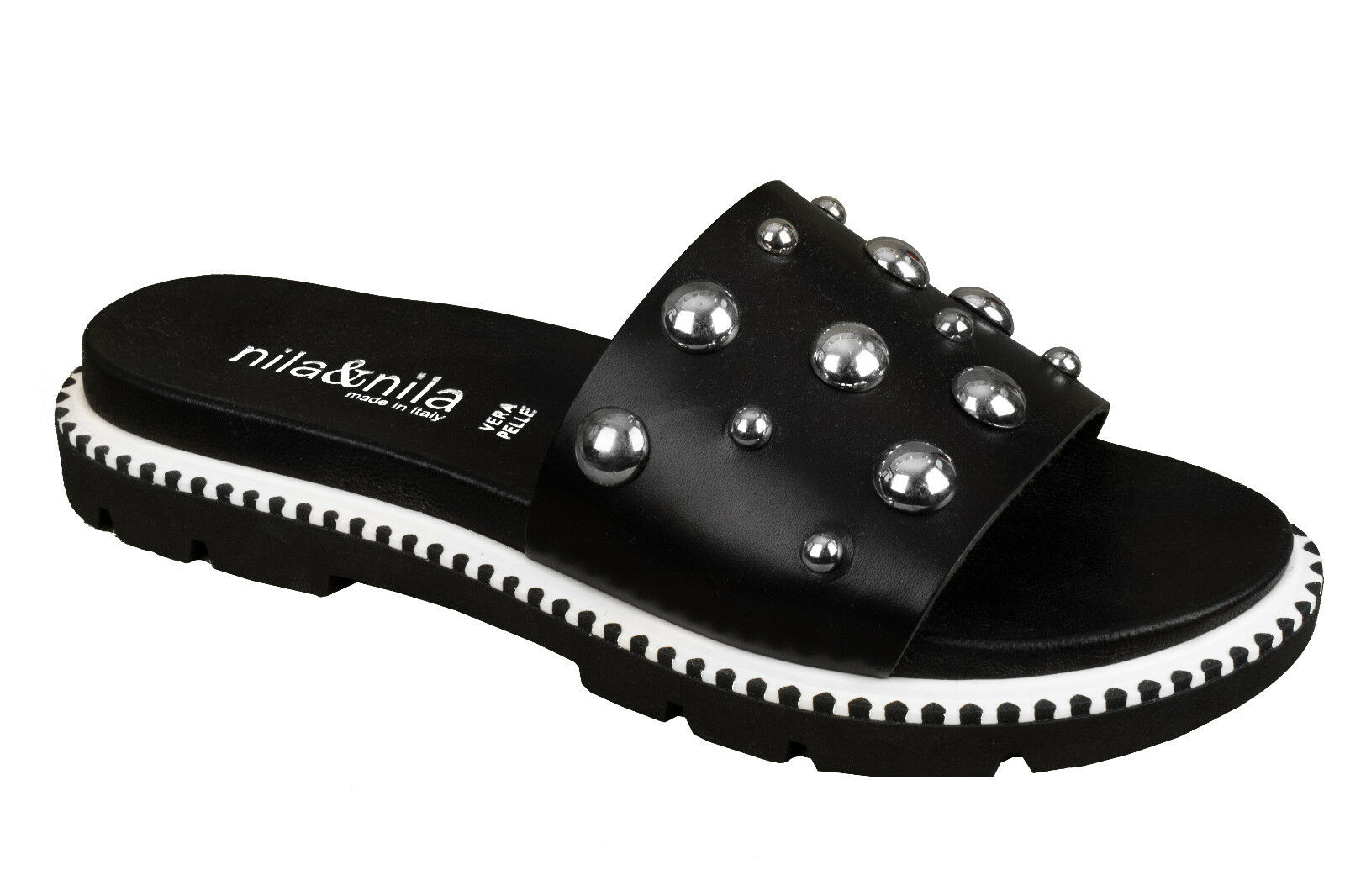 DAMEN LEDER Schuhe  Damenschuhe ITALY Sandalen Pantoletten Sommerschuhe ITALY Damenschuhe d6039e
